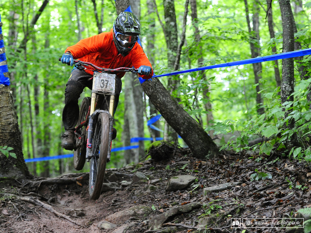 Defending ProGRT overall champion Shane Leslie raced to a seventh-place on Sunday.