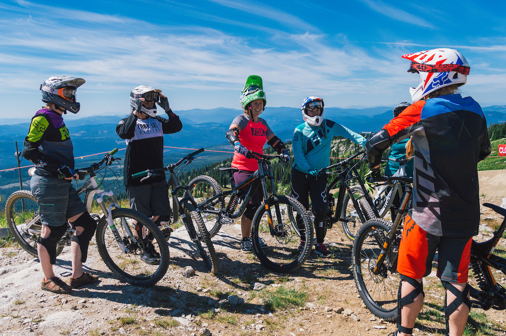 Bike Big White Women s Downhill Bike Camps