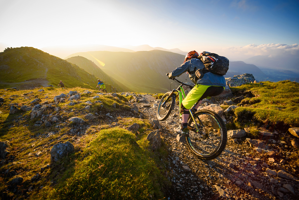 Does it get any better than riding Mountain top singletrack in the late evening sunlight with your best mates?