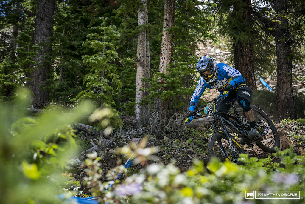 Sam Hill has been itching for this. EWS win number 2 came today as well as the overall.