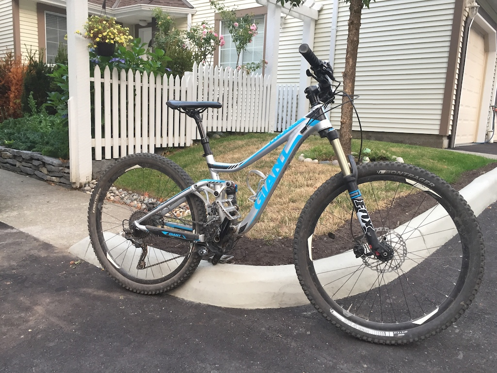 2014 Giant Trance 1 with Upgrades
