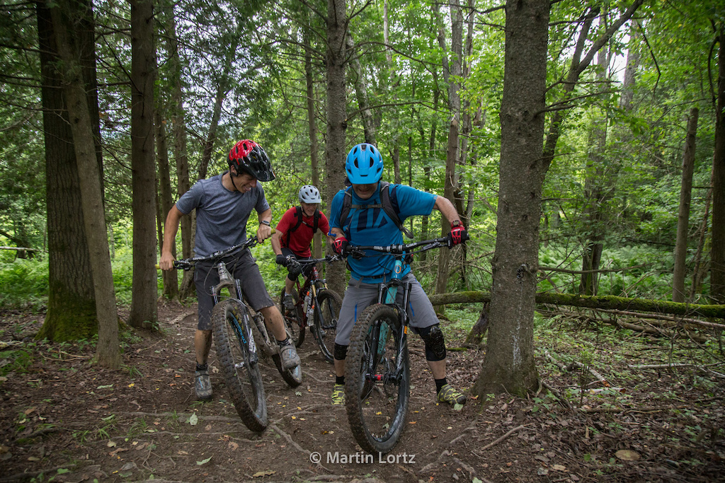 The Mountain Bike Tourist - The Eastern Townships, Quebec