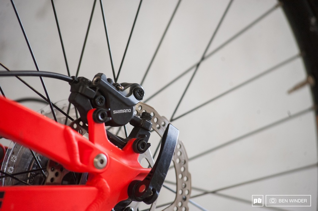 The Deore brakes are fantastic and makes us question why would you spend more