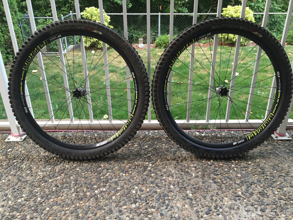DT Swiss M1700 27.5 Wheelset w/ Tires