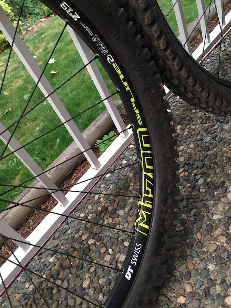 DT Swiss M1700 27.5 Wheelset w/ Tires