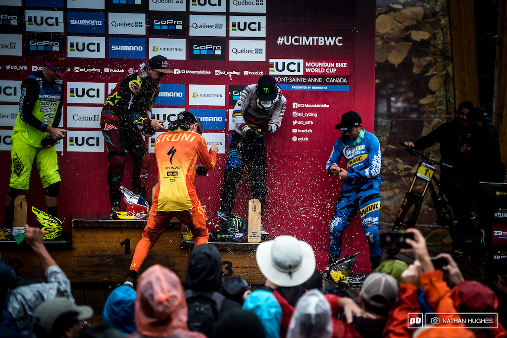 Jones, Bruni, Lucas, Hart and Gwin reflect on a mighty mad day on the hill.