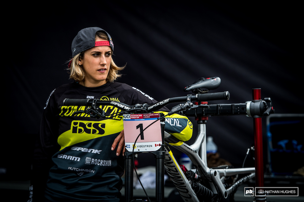 It's that time of year when things get awful serious and all eyes are fixed on the overall. Series leader, Myriam Nicole, with one of the biggest days of her career ahead of her.