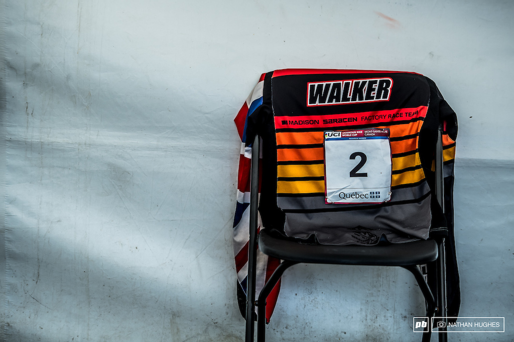 First in the qualies, first at split 1 and then all up in flames for Matt Walker. That's a damn shame for Britain's top junior.