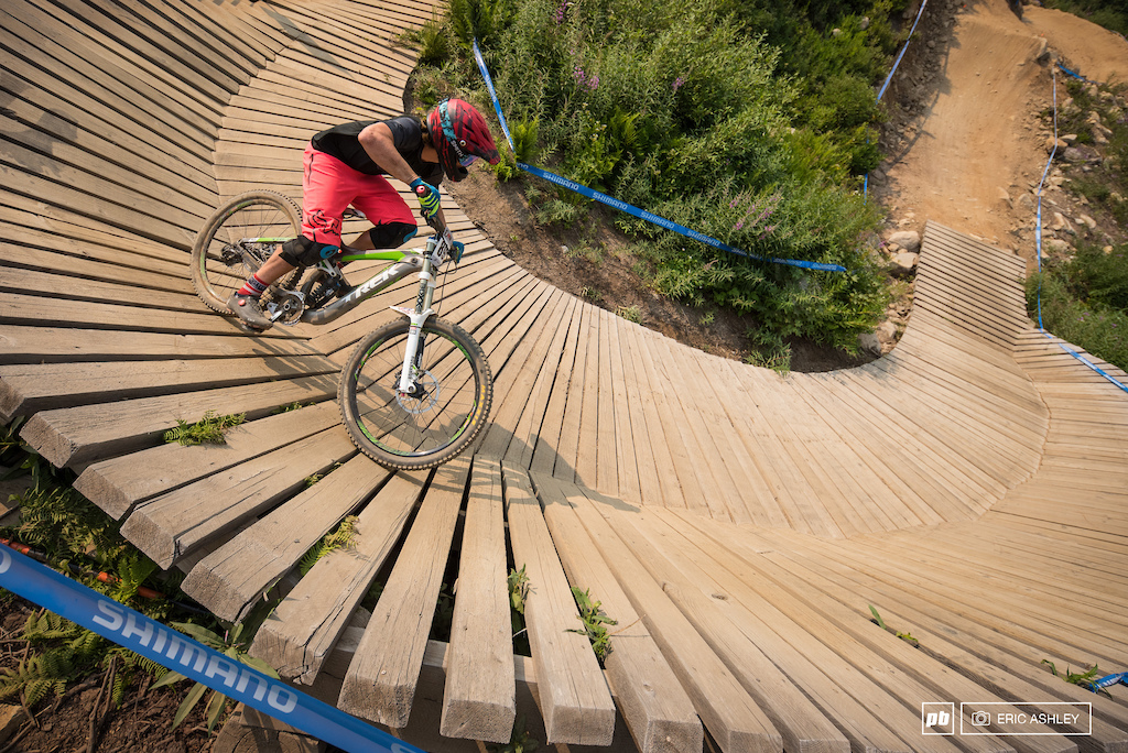 Sam Day rides out the wall-ride on Slingshot Wookie Cat 2 Men 0-14 .