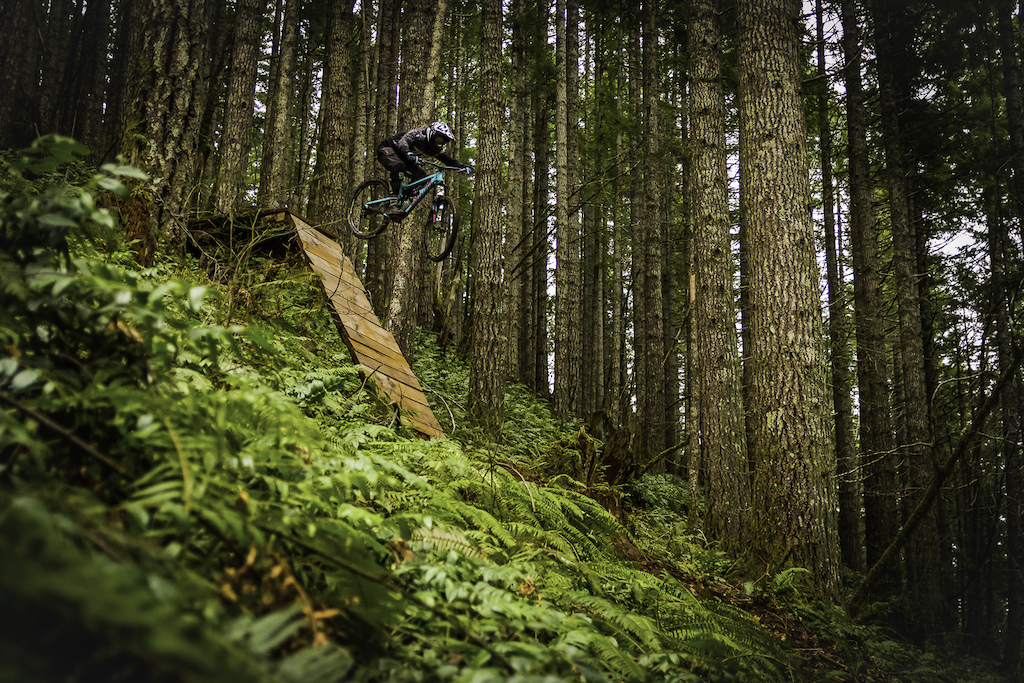 Airing out in the deep woods with Vaughn Cash.