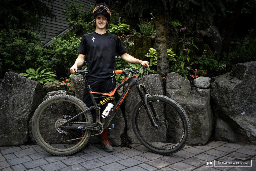 Keegan Wright's Specialized Stumpjumper 29