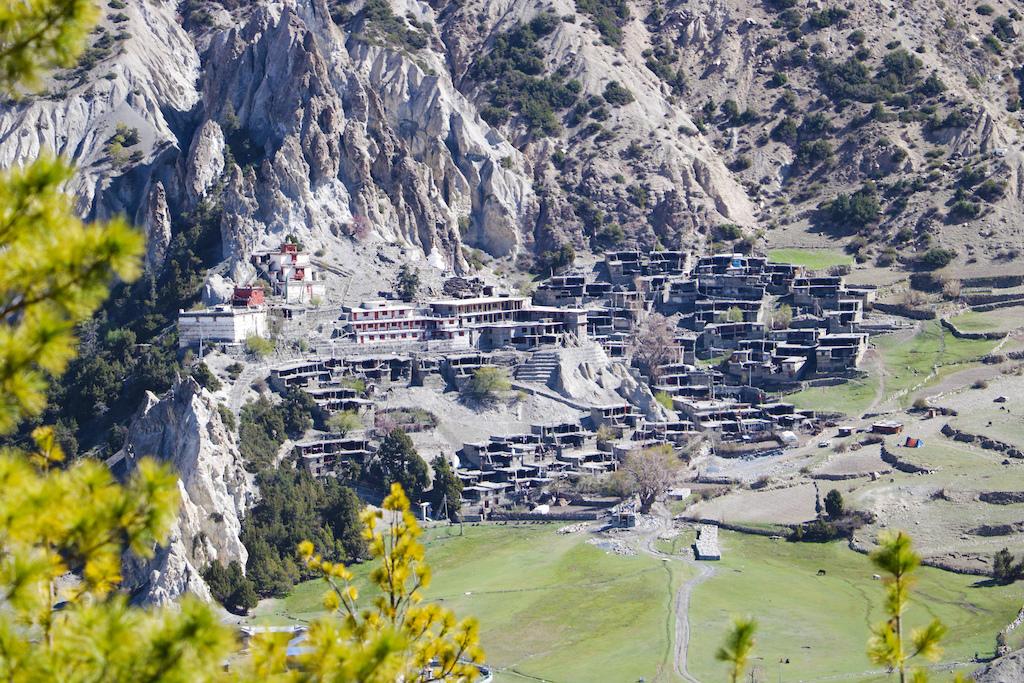 An Ancient village in Braka, Manang, Nepal