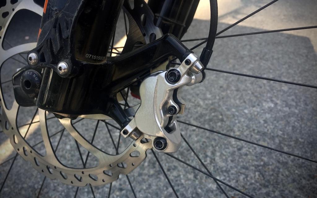 Hayes prototype DH bikes