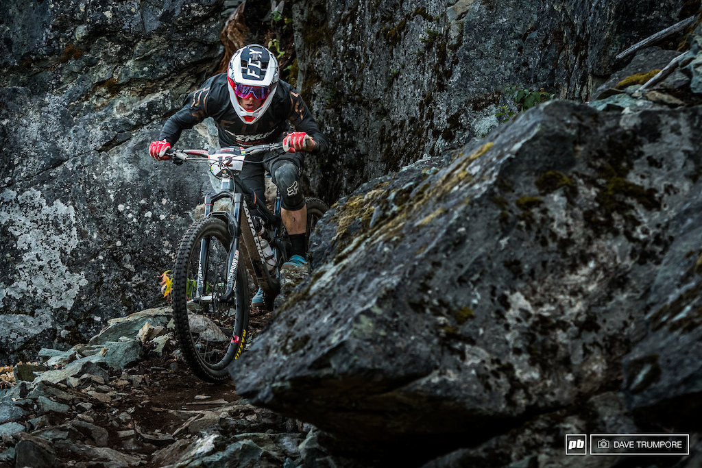 Smashing rocks and riding to his true potential, Mark Scott finally landed himself a long overdue podium today.