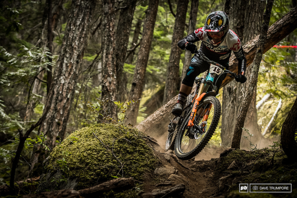 5th for Remi Gauvin would be his best ever EWS finish.