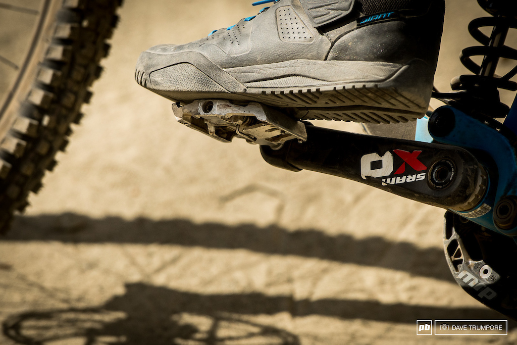 New Giant DH shoes in the works.