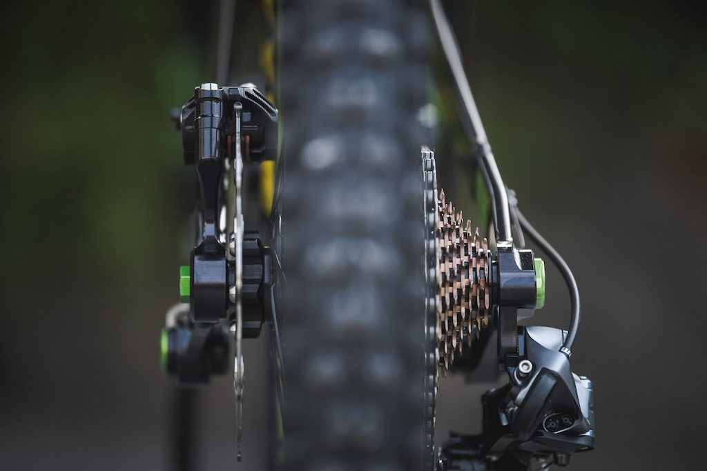 I m glad that a company finally sorted out the waste of space found at the rear axle of nearly every bike on the market. Instead of making it wider you can just make it better