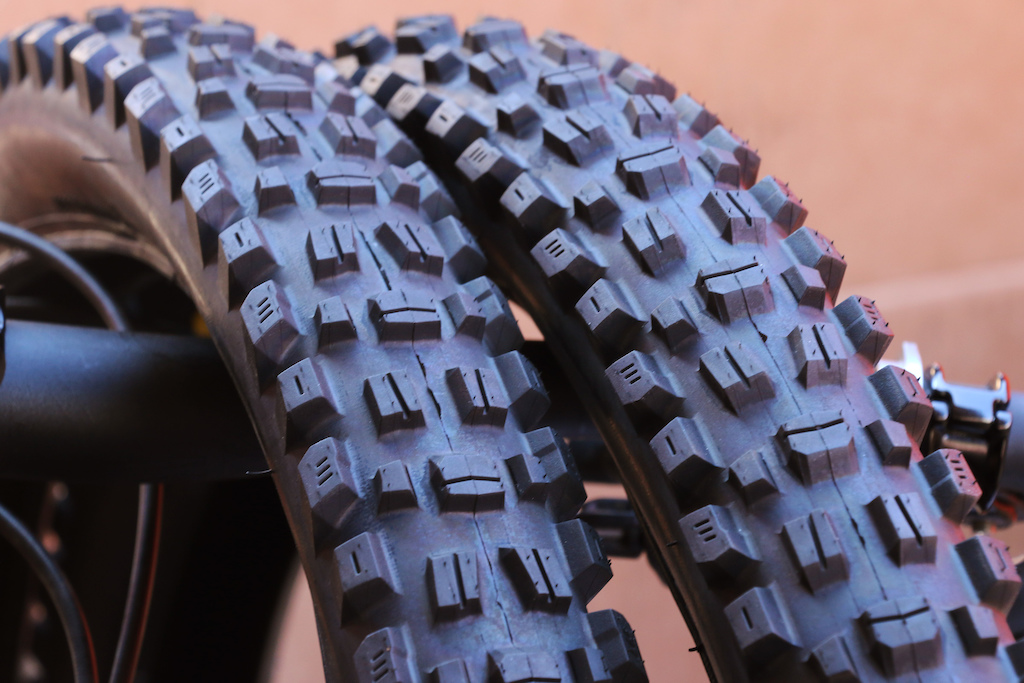 New Maxxis DH tires
