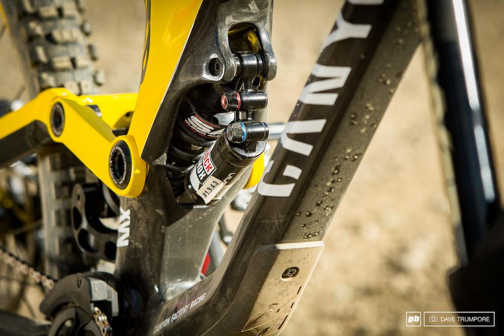 Troy Brosnan Canadian Open DH - Winning Bike