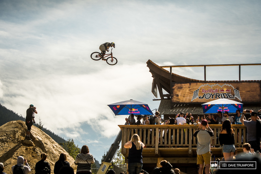 Ryan Nyquist 360 bar spin off the whale tail