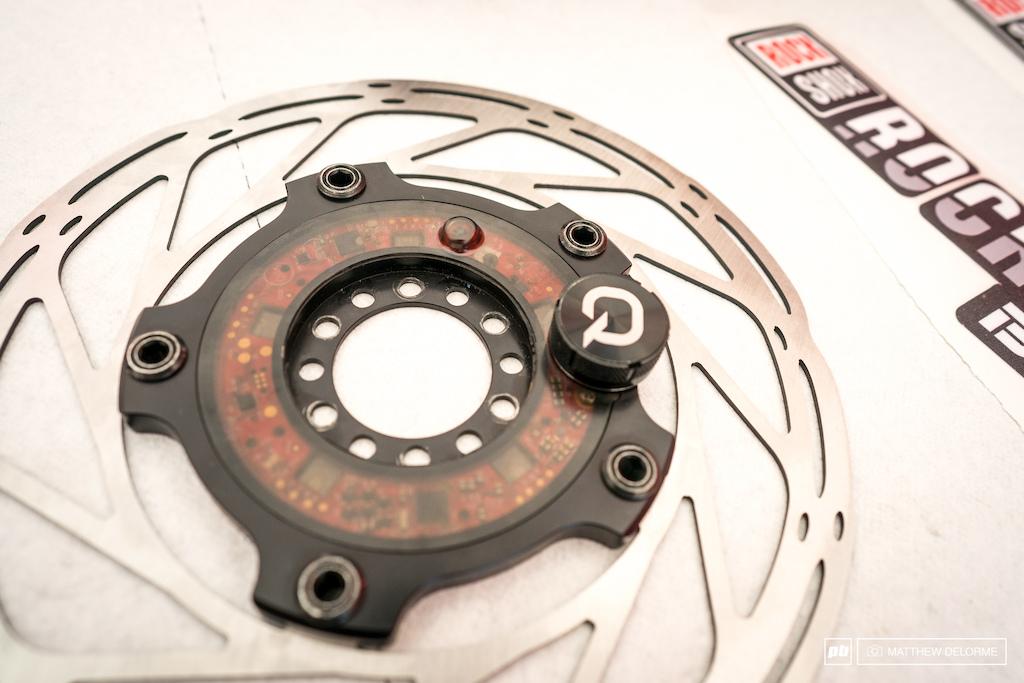 Quark brake monitor