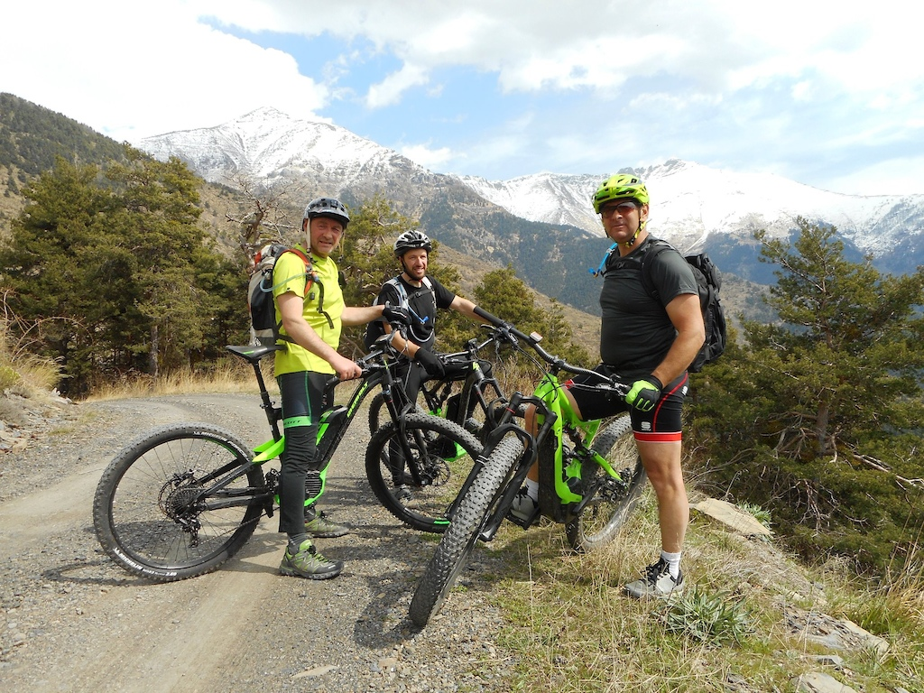 Kieran Page has been involved in a community eMTB project in Peille France with positive outcomes.