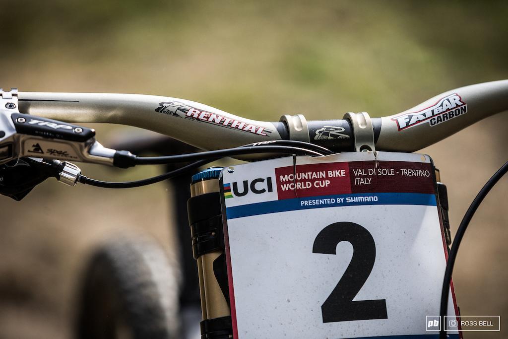 Aaron Gwin Winning Bike