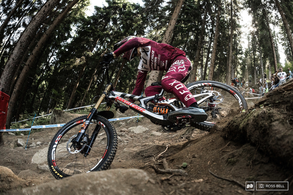 27.5 wheels didn t hold back Loris Vergier who ll be happy with his first seasons work on the Syndicate.
