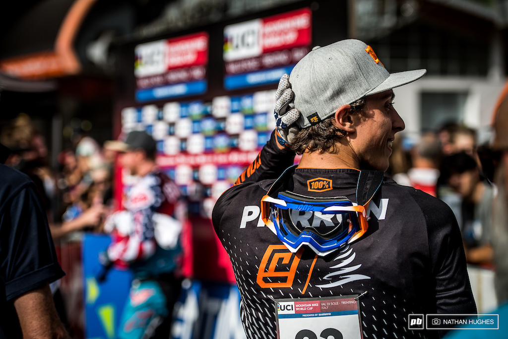 Pierron struggling to catch up with his accomplishments, returning to the podium for only the second time in his career.