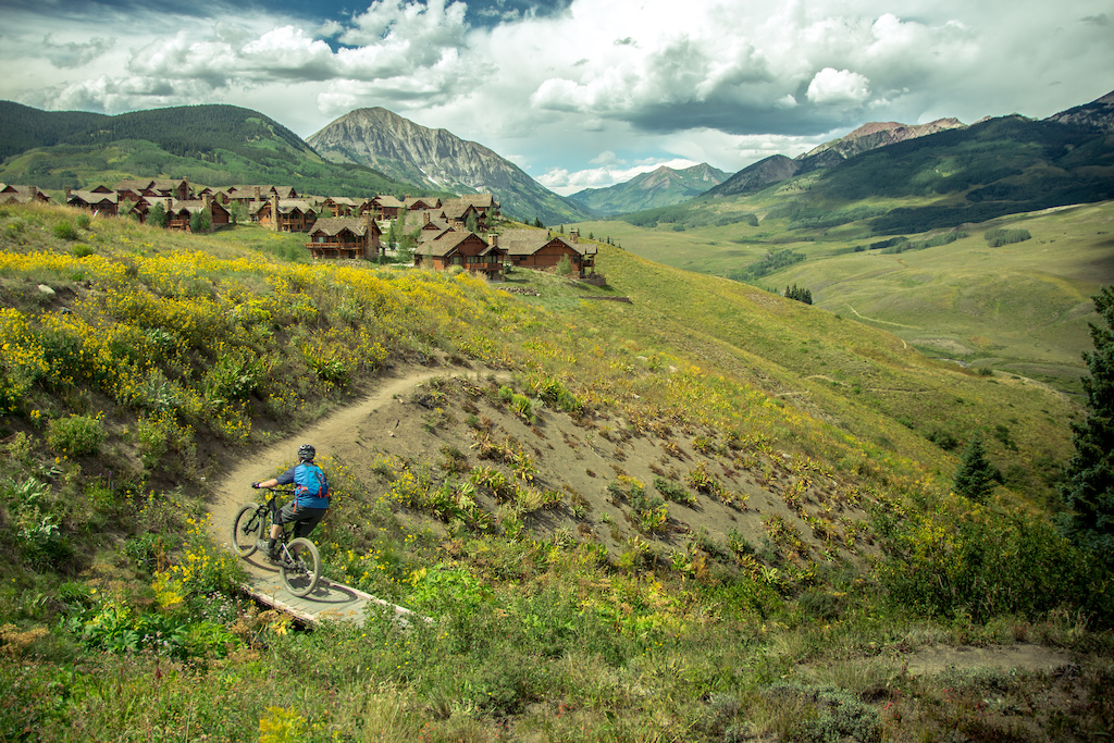 While everyone was blowing out the bike park a few new friends and I sought out some scenic backcountry riding in Crested Butte CO. I think we got what we came for.
