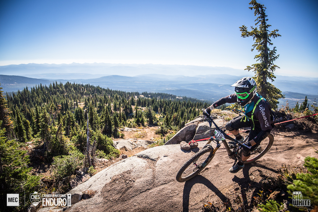 2017 Canadian National Enduro Series at Big White Bike Park, Kelowna BC. 