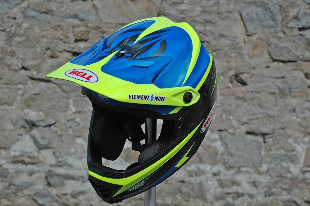 Custom helmet for Wyn Masters on GT Bicycles