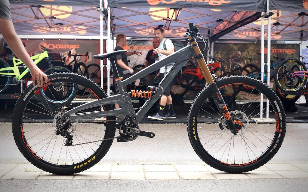 Orange 29er DH Prototype