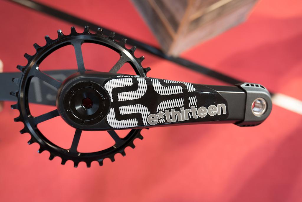 e13 TRS carbon crank
