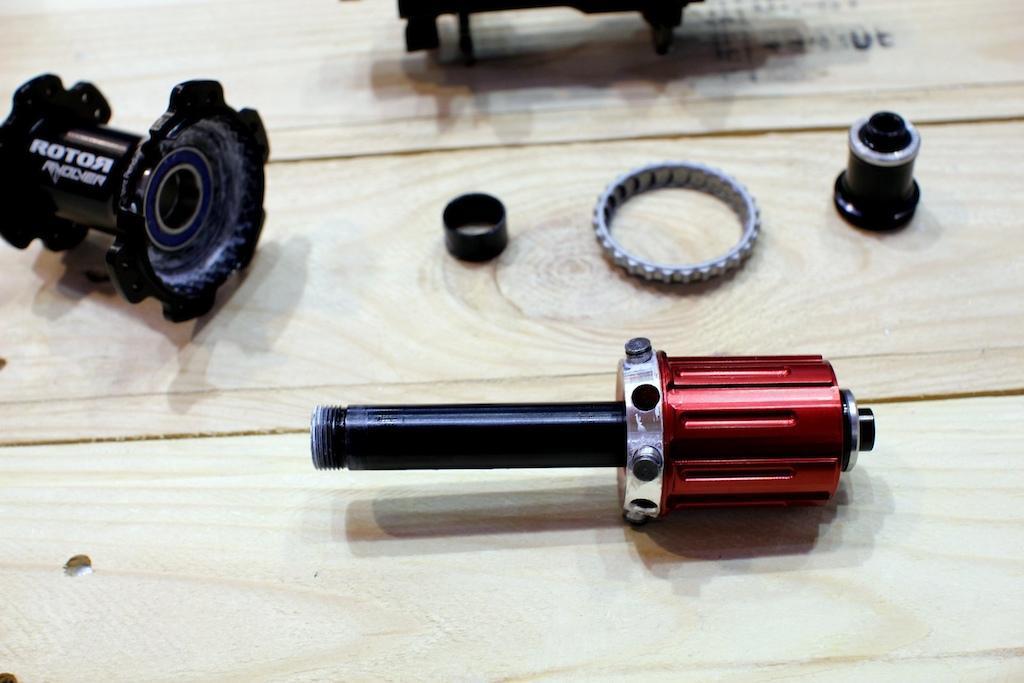 Rotor Revolver hubs