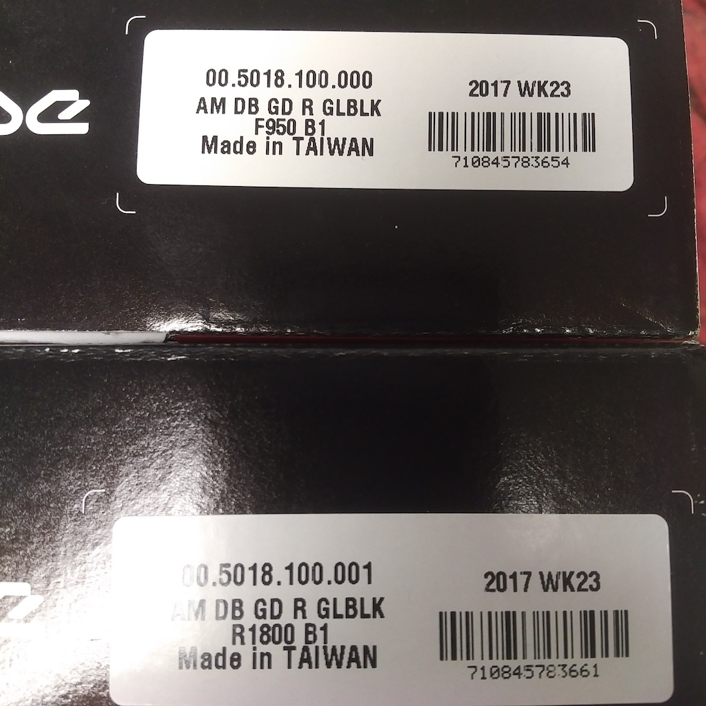 2017 Sram Guide R brakeset (front and rear)