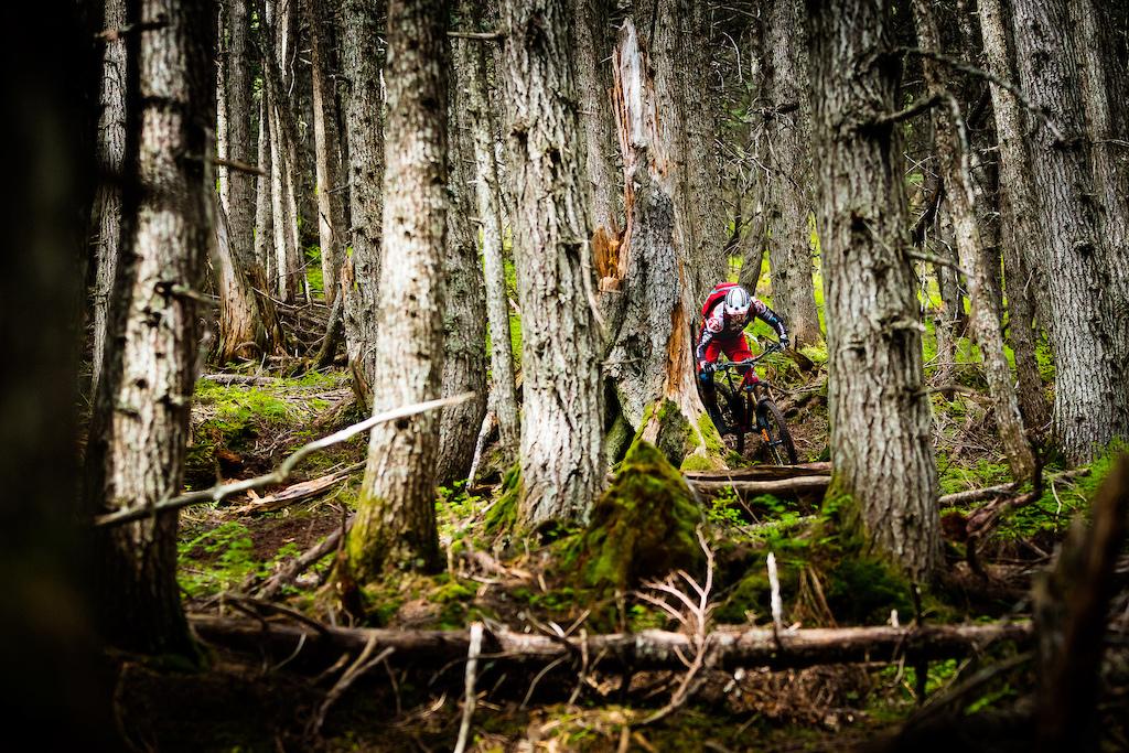 Peter Ostroski Rides the Chugach