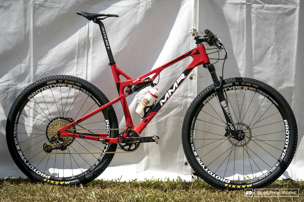 David Valero Serano s MMR Kenta 29 Bike Check - Cairns XC World Champs 2017