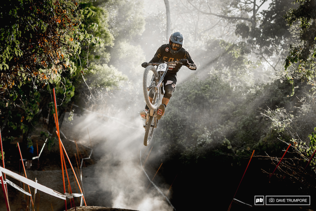 Magnus Manson boosting out of the whoops.