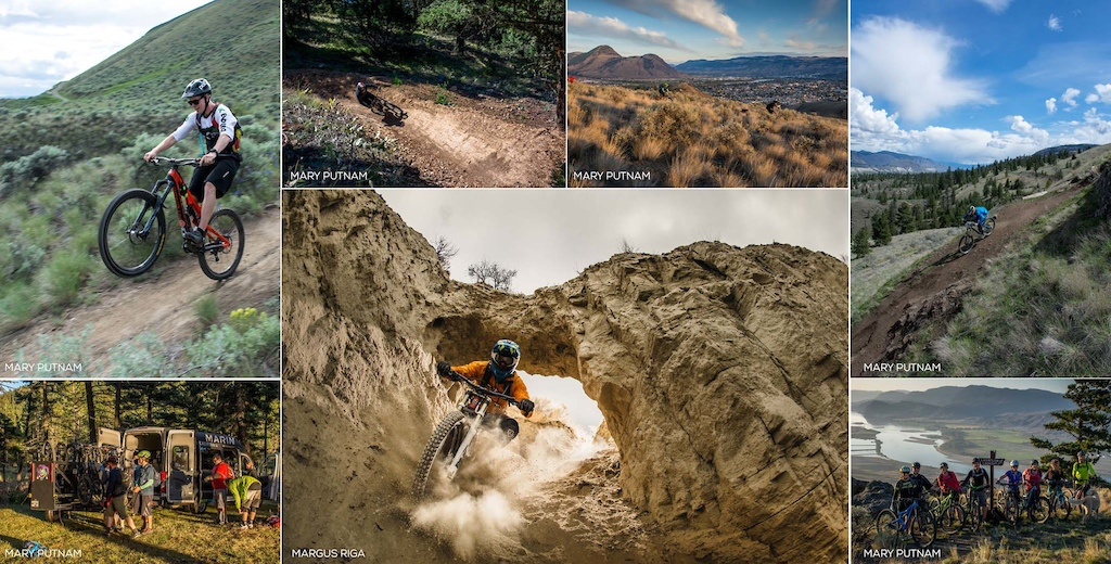 Check out the trails of Kamloops. Something for everyone.