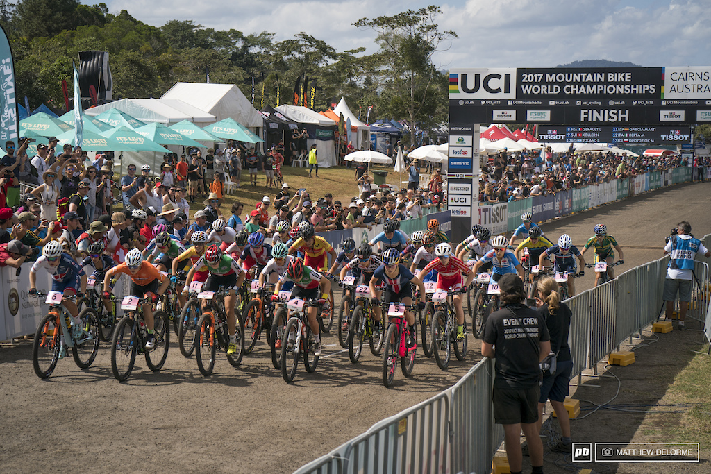Let the Dust Fly: U23 Photo Epic - Cairns XC World Champs 2017