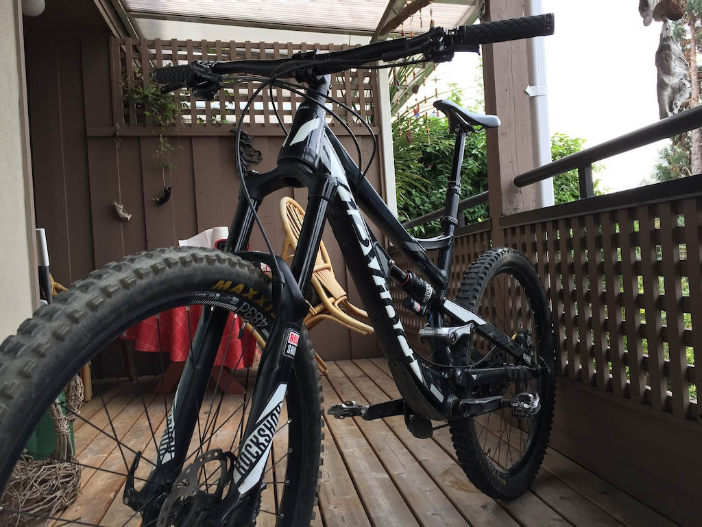 2016 Sell Devinci Spartan Alloy RS w/ Shimano Saint brakes
