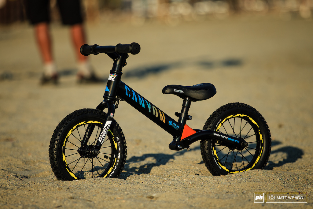 Victor Barel bike check