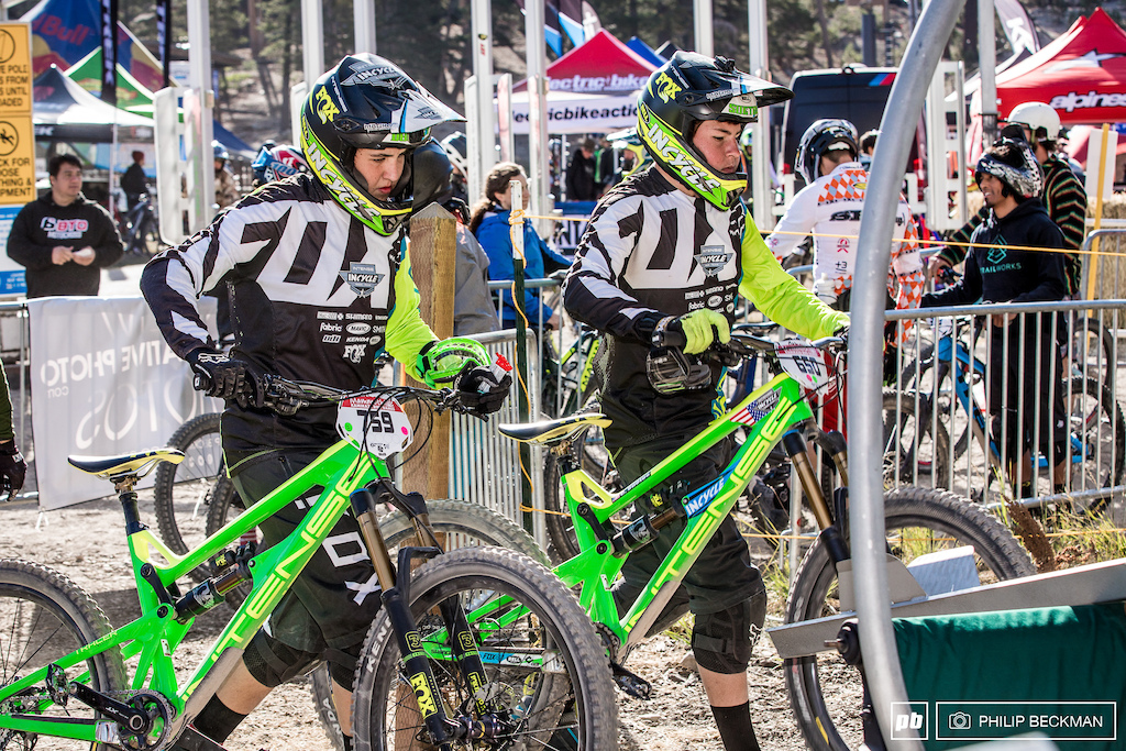 Keep an eye on these young guns from the Incycle Race Team. Cole Suetos and Austin Dooley were flying in both the Downhill and Enduro.