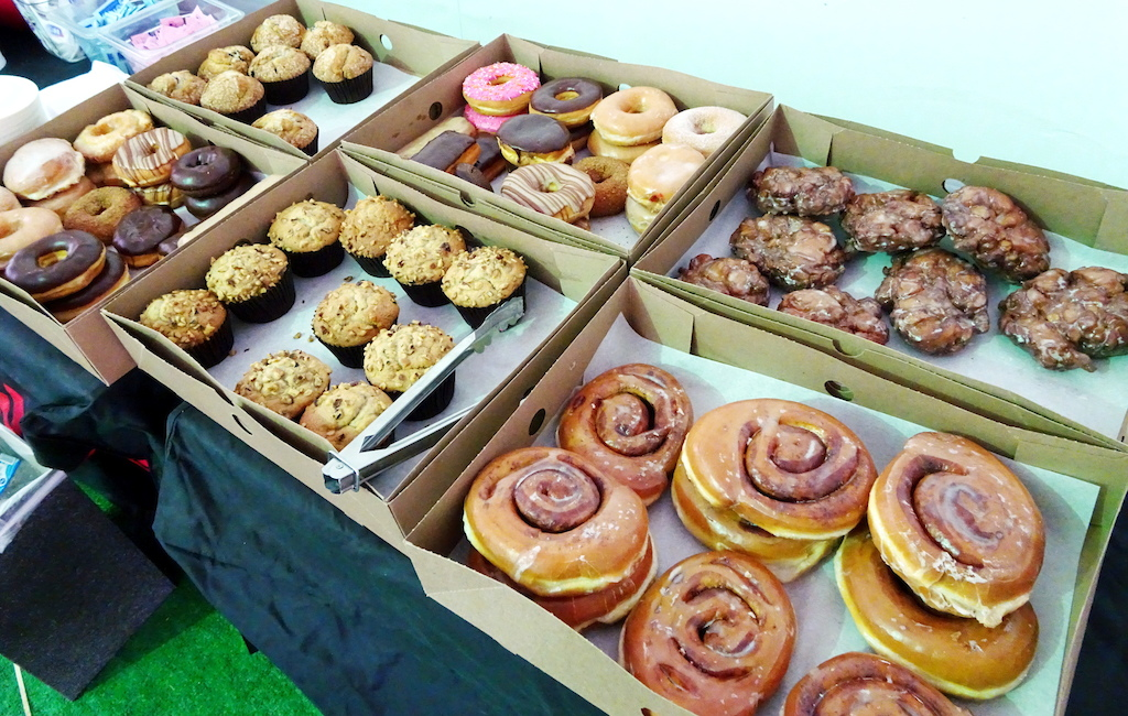 Interbike 2017 Donuts