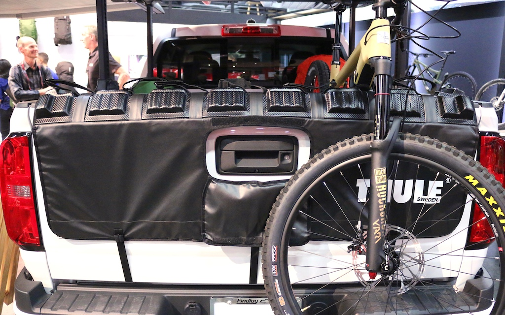 Thules Tailgate Pad The GateMate Pro Sees A Few Updates For 2018 That Are Intended To Make It Play Nice With More Trucks These Include New Material