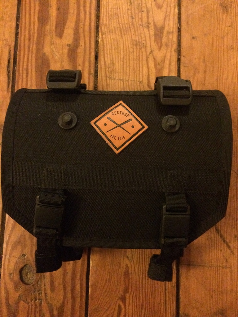 2016 Restrap Bar Bag Holster and Food Pouch