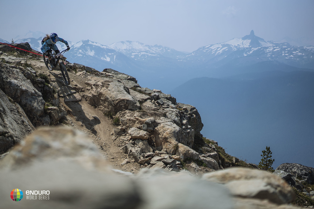 The iconic Top of the World Stage in Whistler
