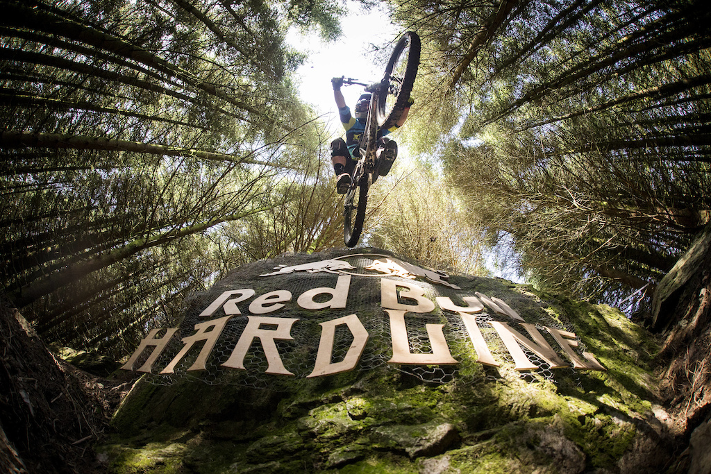 Brook Macdonald performing at Red Bull Hardline in Dinas Mawddwy United Kingdom on the 17th September 2016 Dan Hearn Red Bull Content Pool P-20160919-00097 Usage for editorial use only Please go to www.redbullcontentpool.com for further information.