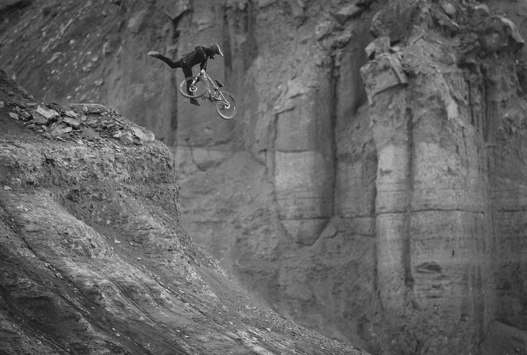 Tom VanSteenBergen in Big Water, Utah, USA while filming for C3 Project